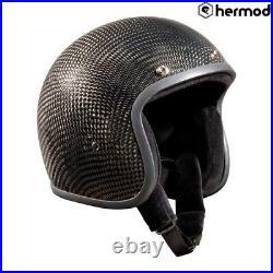 Bandit Low Profile Open Face Helmet Carbon