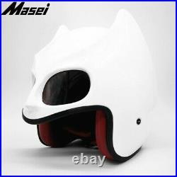 BatMan helmet motorcycle helmet open face helmet casque MASEI 2021