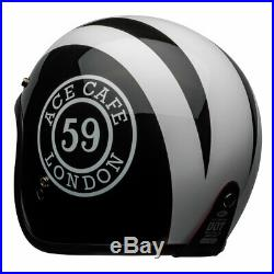 Bell 2020 Custom 500 DLX Ace Cafe 59 Open Face Motorcycle Helmet