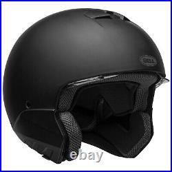 Bell BROOZER Motorcycle Helmet Matte Black full face / open face (ALL SIZES)