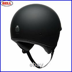 Bell Cruiser 2020 Scout Air Open Half Face Motorcycle Crash Helmet Matt Black