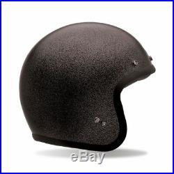 Bell Cruiser Custom 500 Black Flake Open Face Motorcycle Crash Helmet S 56cm