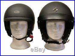 Bell Cruiser Scout Air Low Profile Matt Black ECE approved Open Face +Freebies