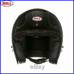 Bell Custom 500 Check It RSD Open Face Helmet