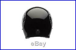 Bell Custom 500 Custom SE Open Face Ace Cafe Motorcycle Helmet. XL. BLK. Lim. Ed