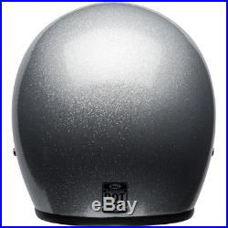 Bell Custom 500 Deluxe Silver Flake Motorcycle Open Face Jet Helmet All Sizes