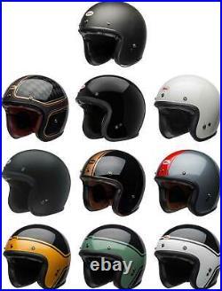 Bell Custom 500 Helmet Open Face 3/4 Motorcyle Street Vintage Cruiser Scooter