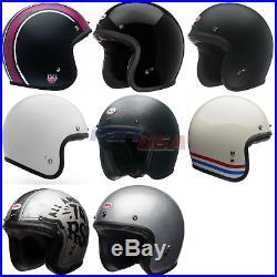 Bell Custom 500 Motorcycle Helmet Open Face ECE DOT Street