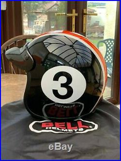 Bell Custom 500 Open Face Motorbike Scooter Helmet Size Large with Bag