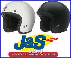 Bell Custom 500 Open Face Motorcycle Helmet Motorbike Open-face Scooter J&s