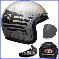 Bell Custom 500 SE Deluxe RSD 74 Open Face Jet Motorcycle Helmet All Sizes