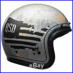 Bell Custom 500 SE RSD 74 Classic Open Face Motorcycle Hemet Matt Grey