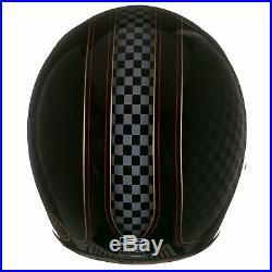 Bell Custom 500 SE RSD Check It Motorcycle Bike Open Face Crash Helmet