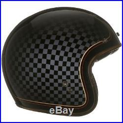 Bell Custom 500 Se Rsd Check It Se Deluxe Open Face Helmet Free Shield & Peak
