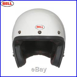 Bell Custom 500 Solid Vintage White Low Profile Open Face ALL SIZES
