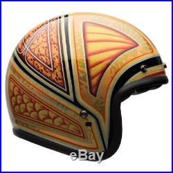 Bell Custom 500 Tagger Flashback Open Face Helmet Motorcycle Motorbike S