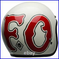 Bell Custom 500 WFO Roland Sands Design Open Face Motorcycle Motorbike Helmet