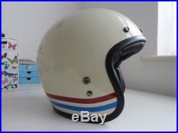 Bell Custom 500 open face motorcycle helmet. Large 60-61cm