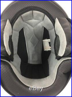 Bell Helmet Half Rogue Open Face Matte Black SIZE L LARGE With Face Mask