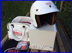 Bell Jet RT open face motorcycle helmet Steve McQueen XS