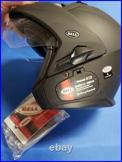 Bell Mag-9 Open Face Motorcycle Helmet (Solid Matte Black, Large)