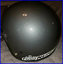 Bell Magnum Helmet 1980s Snell Open Face Gray Motorcycle Visor and Face Mask