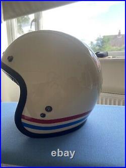 Bell Motorcycle Scooter Helmet Custom 500 Open Face Size Medium