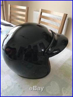 Bell Open Face Helmet In Black Medium 58cm