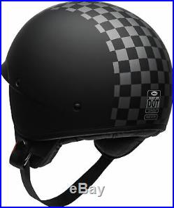 Bell Scout Air Check Open Face Motorcycle Helmet Lightweight Cruiser GhostBikes