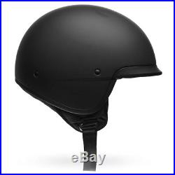 Bell Scout Air Matte Black Motorcycle Motorbike Open Face Helmet All Sizes