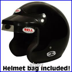 Bell Sport Mag Open Face Racing Helmet XX-Large Black SA2015 +IN STOCK+