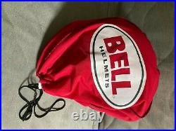 Bell open face helmet large