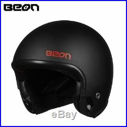 Beon T703 Retor Jet Motorcycle Helmet Multi-function Motorbike Modular Open Face