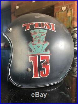 Biltwell Custom Open Face Motorcycle Helmet