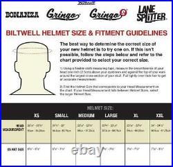Biltwell Gloss Black Spectrum Bonanza Open Face Helmet Brand New & In Stock