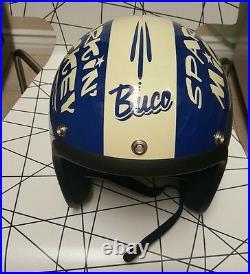 Buco Open face motorcycle helmet (bell) sz. 54/55
