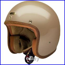 CLEARANCE Hedon Hedonist Open Face Motorcycle Motorbike Helmet Champagne 2XL