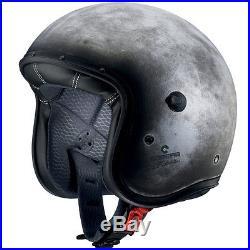 Caberg Freeride Iron Motorcycle Motorbike Open Face Jet Retro Helmet All Sizes