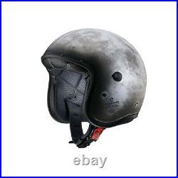 Caberg Freeride Iron Open Face/Cruiser/Scooter Low profile Motorbike Helmet QZ
