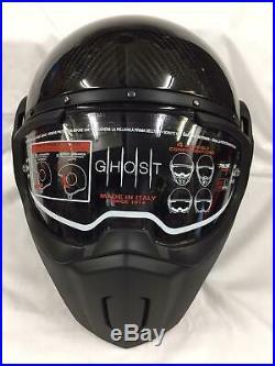Caberg Ghost Carbon Fibre Open Face Motorcycle Crash Helmet Medium 57-58cm Sale