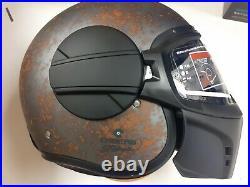 Caberg Ghost Helmet Jet Open Face Motorcycle Motorbike Lid Gear Tri-composite M