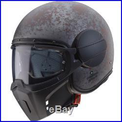 Caberg Ghost Jet Open Face Scooter Motorcycle Bike Helmet Lid Rusty
