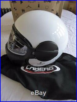 Caberg Ghost Jet Retro Open Face Motorcycle Motorbike Helmet Size L Bnib