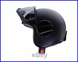 Caberg Ghost Matt Black Open Face, Motorcycle Helmet, Fast'N Free Shipping