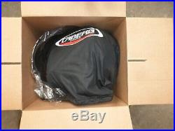 Caberg Jet Free Ride Open Face Motorcycle Retro Helmet Black/Rusty Size XL