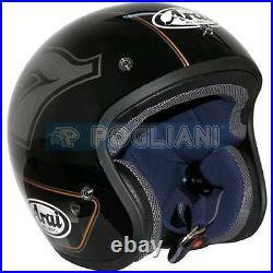 Casco Moto Jet Arai Freeway Classic Cafe Racer Open Face Ar9930cr Tg. Xs