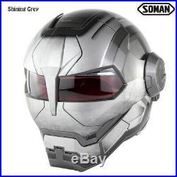 Casco Open Face Verspa capacete Helmets New Soman 515 Ironman Motorcycle Helmet