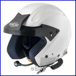 Casco Sparco Pro J-i Tg Xs Sn 2010 Omologato Racing Open Face Helmet Rally