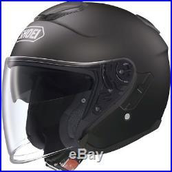 Cheap Shoei J-Cruise Matt Black Open Face Motorbike Motorcycle Helmet Small