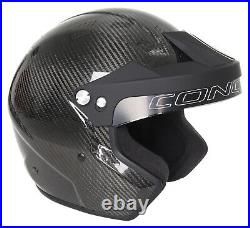Conquer Carbon Fiber Snell SA2015 Approved Open Face Racing Helmet